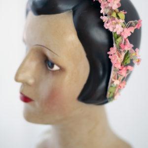 Vintage Blumen Haarreif