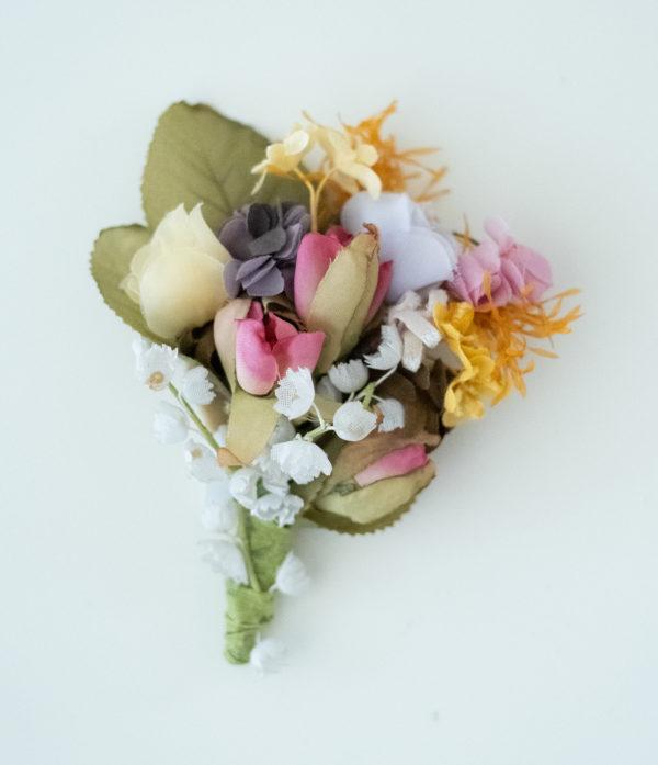 Vintage Haarblumen Bouquet