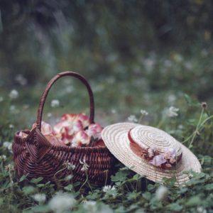 Vintage Canotier Peonia
