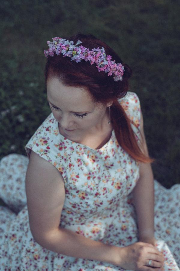 Vintage Haarreif Rosalie
