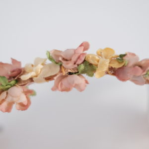 Vintage Haarreif Blumenranke