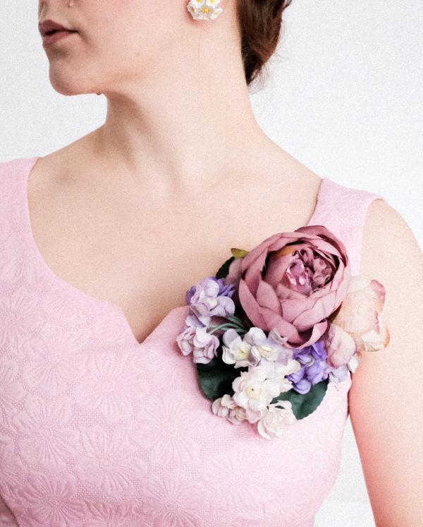 Blumen Brosche Corsage